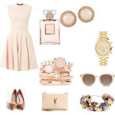 """pastel pink dream"" by vitez-julia on Polyvore"
