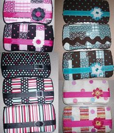 Diaper Wipes Case Tutorial - this would have to be a gift - what mom with a newborn would have a second to spare??