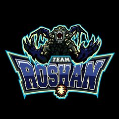 Team Roshan Varsity Dota 2 Designs on Behance - American Logo Sport Theme Fantasy Football Funny, American Logo, Lgbt Groups, Team Logo Design, Photo Background Images, Name Logo, Game Concept, Dota 2, Cool Logo