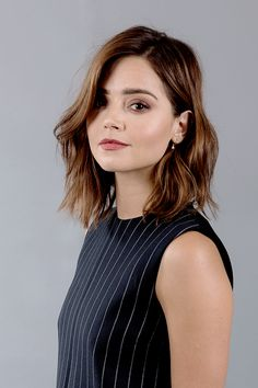 jenna coleman hair