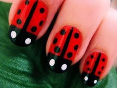 "ADD ME: facebook.com/cutepolish    Cute & Easy Ladybug Nails for Short or Long Nails.    PRODUCTS USED:  OPI Nail Envy  China Glaze Hey Sailor  Sally Hansen Black Out  Art Deco Black  OPI Alpine Snow  Seche Vite Dry Fast Top Coat    Music: Kevin MacLeod    ""cute pencil nails"" cutepolish cute pencil nails ""cute pencil nails"" cutepolish cute pencil nails ""cute ..."