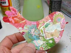"Mod Podge Monday: Mixed-Media Tutorial ""Freedom"", Bird in Cage - A Creative Life"