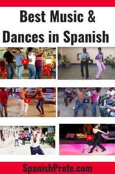 Music, Songs and Dance is very important in Hispanic or Latino Culture. This article includes links to videos of people dancing to many genres or types of music in Spanish. It also includes information great videos for students to learn, see and hear musi