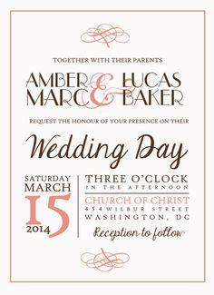 wedding invitations personalized wedding by Churches Of Christ, Personalized Wedding, Wedding Invitations, Reception, Wedding Day, Creative, Handmade, Etsy, Masquerade Wedding Invitations