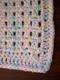 Free Pattern: Easy Baby Blanket crochet
