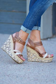 The Bianca Wedges from Closet Candy Boutique