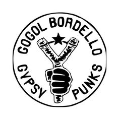 Gogol Bordello Band Logo Vinyl Decal Sticker  BallzBeatz . com