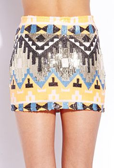 Standout Sequined Mini Skirt | FOREVER 21 - 2000071817
