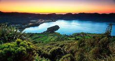Paradise at Lagoa das Sete Cidades, Azores, Portugal - Photo: Hugo Camara