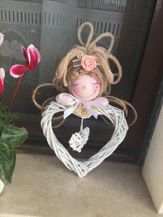Christmas Wood, Christmas Angels, Christmas Projects, Valentine Decorations, Christmas Decorations, Christmas Ornaments, Bomboniere Ideas, Cute Crafts, Diy Crafts