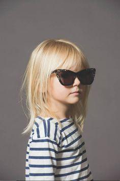 Fofura do dia: Campanha da Karen Walker Eyewear's
