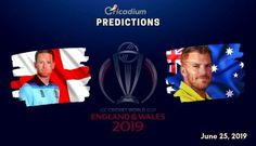 The 32nd match of the World Cup 2019 will feature England facing Australia at Lord's, London on June 25. Keep reading to find out the ICC World Cup 2019 Match 32 England vs Australia Match Prediction. Two of the strongest contenders meet at the home of cricket. The previous contest between the arch-rivals India and […] One Day Match, Tom Curran, World Cup Trophy, Icc Cricket, Live Matches, Cricket World Cup, Who Will Win, Best Positions, Cricket Match