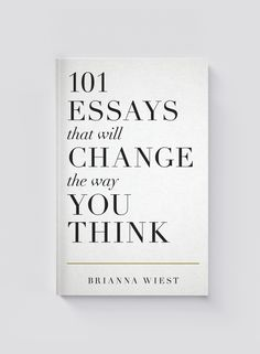 Over the past few years, Brianna Wiest has gained renown for her deeply moving, philosophical writing. This new compilation of her published work features pieces on why you should pursue purpose ov…