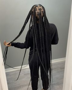 Box Braids Hairstyles For Black Women, Braids Hairstyles Pictures, Black Girl Braids, African Braids Hairstyles, Baddie Hairstyles, Braids For Black Hair, Girls Braids, Protective Hairstyles, Protective Styles