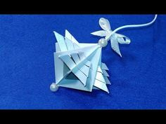 Super easy Christmas ornament from paper! Best ideas for Christmas decoration. - YouTube