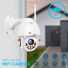 Wireless Night Vision Digital Home Security Outdoor Security Surveillance Camera Best Security Cameras, Home Security Tips, Home Security Systems, Wireless Security, Security Alarm, Outdoor Camera, Wireless Camera, Camera Hacks, Security Surveillance