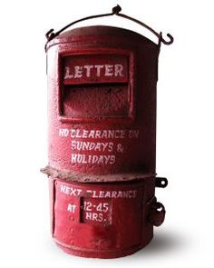 Old mail box               ****