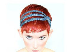Excited to share this item from my #etsy shop: Unique Headbands For Women With Short Hair Pixie Headband, Headbands For Short Hair, Headbands For Women, Hats For Short Hair, Pixie Haircut Styles, Short Hair Styles, Color For Short Hair, Pixie Hairstyles, Headband Hairstyles