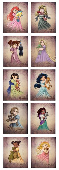 Young Princess Art