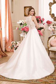 Sweetheart Gowns - Style 1136: Corded Lace and Mikado Dress with Pockets Anne Barge Wedding Dresses, Lace Wedding Dress, Wedding Dress Trends, Tulle Balls, Tulle Ball Gown, Cinderella, Wedding Dress Necklines, A Line Gown, Sweetheart Dress
