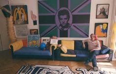 My Apartamento: Jean-Charles de Castelbajac  The cult fashion designer invites us into his zany Paris apartment
