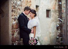 Hochzeitsportraits im Winter - Yvonne Zemke Hochzeitsfotografie