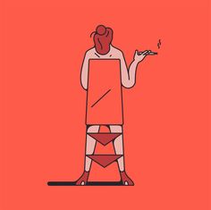 It's Nice That | Cheeky, irreverent and vivid illustrations by Thomas Hedger