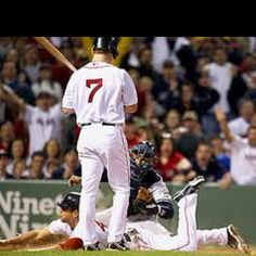 Jacoby Ellsbury stealing home off the Yankees.Still the best game I have ever seen Live! Boston Sports, Boston Red Sox, Team 8, Red Sox Nation, Red Sox Baseball, Oakland Athletics, Texas Rangers, Best Games, Sports News