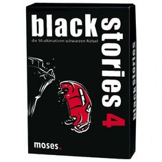 Black Stories 4 Spielwaren Kartenspiele Black Stories