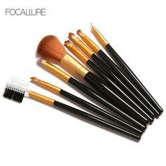 FOCALLURE 8Pcs Professional Makeup Brushes Set
