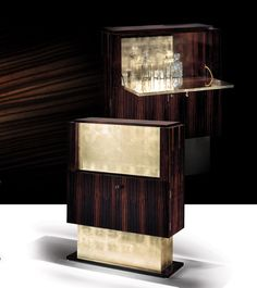 CHIC STYLISED Art Deco Cocktail Cabinets | Taylor Llorente Furniture