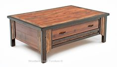 Touch of the West Barn Wood Coffee Table