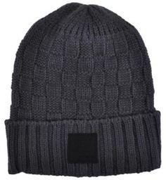 NWT Diamond Supply Co. Checker Fold gray & black beanie cap hat Urban skate  #diamondsupplyco #Beanie