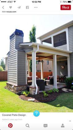I love the idea of adding any outside room..