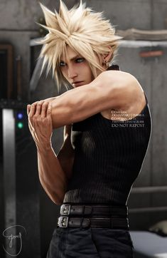 Media Tweets by Emy apologize for being slow with commissions (@Emy_san_arts) / Twitter Final Fantasy Tattoo, Final Fantasy Cloud, Final Fantasy Artwork, Final Fantasy Characters, Final Fantasy Vii Remake, Video Game Characters, Fantasy Series, Cloud And Tifa, Cloud Strife