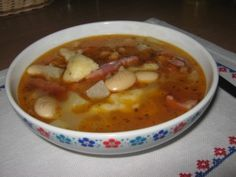 Fazuľová polievka s haluškami (fotorecept) - obrázok 10