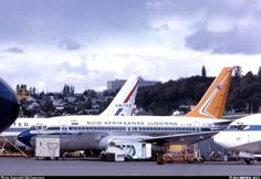 SAA 737-200 ZS-SBL Seattle September 1968