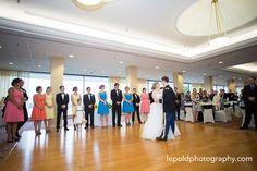 079 Jewish Wedding Ft Belvior Officers Club LepoldPhotography