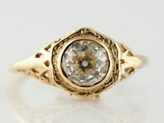 1.26 Carat Yellow Gold $6,500.00, I-0000 #yellow gold #westchestergold #designer rings #fashion rings #estate