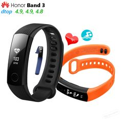 Cheap smart wristband, Buy Quality heart rate directly from China wristband smart Suppliers: In Stock Original Huawei Honor Band 3 Smart Wristband Swimmable OLED Screen Touchpad Heart Rate Monitor Push Message Swimming Times, Ios, Watch Photo, Wearable Device, Smart Bracelet, Heart Rate Monitor, Android 4, Fitness Tracker, Shopping