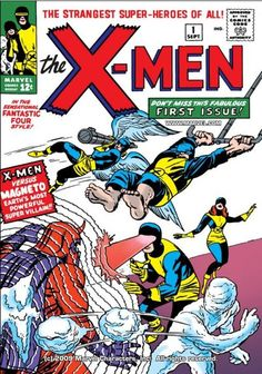 Check out Uncanny X-Men (1963-2011) #1 on @comiXology.  Great start to what would become my 2nd favorite Marvel series.  I still can't believe the corniness of the early sixties but there it is.