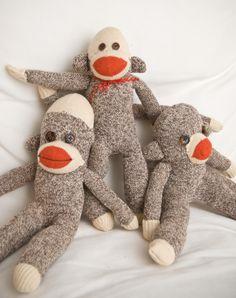 tutorial from vintage directions! #primate, #PSM, #monkey, #planetsockmonkey, #monkeyup