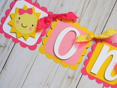 you are my sunshine birthday decorations