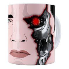 Caneca Schwarzenegger Exterminador do Futuro
