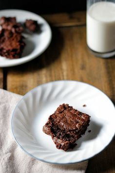 {Salted caramel brownies.}