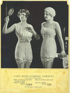 1918 Lady Duff-Gordon (Lucile) Corsets