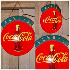 """Always Coca Cola"" lamp @onyxdewinkel.nl"