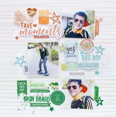 Bea Valint: 2 layouts with Be You and The Mix No. 2 collection | Pinkfresh Studio DT