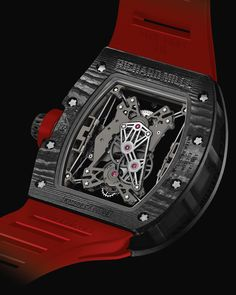 "Richard Mille RM 50-27-01 Suspended Tourbillon Special Edition Watch For USA Boutiques - by James Stacey - Richard Mille?  Check.  Suspended Tourbillon? You bet. See it at: aBlogtoWatch.com ""Hide your retirement fund, Richard Mille has announced a new and very limited edition model for their US boutiques. The Richard Mille RM 50-27-01 Suspended Tourbillon Special Edition is an eye-catching combination..."""