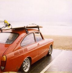 VW Fast Back! Oh how i miss your sleek Saab like lines and air cooled engine noise!